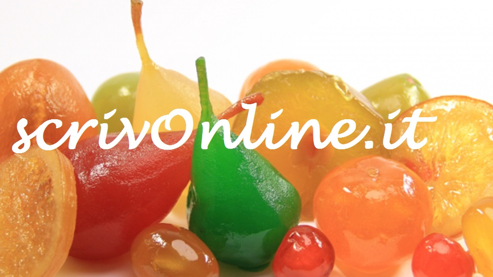 Frutta candita scrivonline for Frutta online