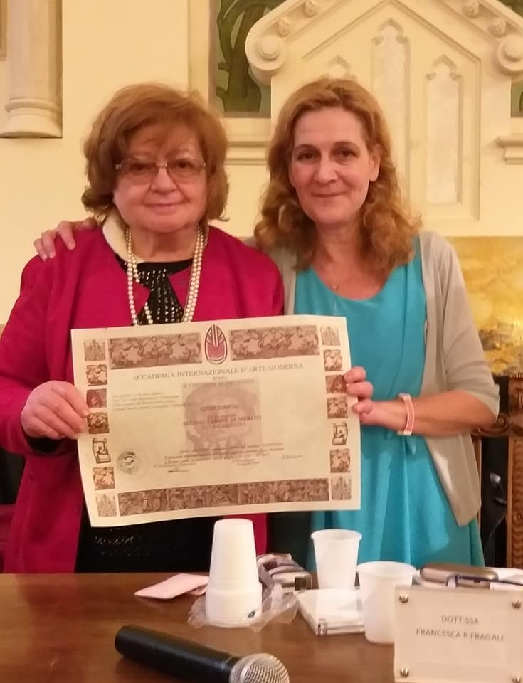 Iginia Bianchi con Francesca Romana Fragale